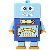 Новый мультяшный робот usb2.0 256gb флеш-накопитель u дисковая карта памяти
