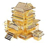 3D Puzzles Metal Puzzles Model Building Kits Toys Famous buildings Architecture 3D DIY Not Specified Boys Pieces