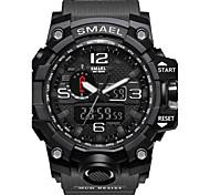 baratos -SMAEL Homens Relogio digital Único Criativo relógio Relógio de Pulso Relógio inteligente Relógio Militar Relógio Elegante Relógio de Moda