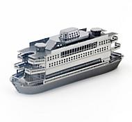 Недорогие -3D пазлы Пазлы Металлические пазлы Игрушки Корабль 3D Своими руками Нержавеющая сталь Металл Не указано Куски