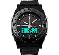 Men's Fashion Solar Outdoor Activity Electronic Watch Male Students Watch Waterproof Watch Of Wrist Of Personality