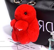 Недорогие -Сумка / телефон / брелок шарм кролик мультфильм игрушка рекс кролик мех 14см