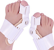1Pair Toe Separator Big Toe Bone Bunion Shield Hallux Valgus Splint Pro Protector Corrector Alignment Foot Massager Pedicure Orthopedic Support Brace