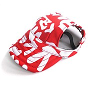 cheap -Cat Dog Hair Accessories Bandanas & Hats Dog Clothes Party Cowboy Casual/Daily Sports Letter & Number Red Blue Costume For Pets
