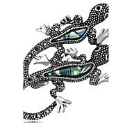 Недорогие -Жен. Броши Стразы На заказ Роскошь Классика Винтаж Классический Мода Простой стиль Elegant Хрусталь Искусственный бриллиант Сплав Прочее