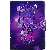 Case For Samsung Galaxy T280 T580 Case Cover Wind Chimes Pattern PU Material Triple Tablet PC Case Phone Case