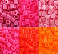 Недорогие -около 500pcs / мешок 5мм плавкие шарики Хама шарики поделки зигзага ева материал Сафти для детей
