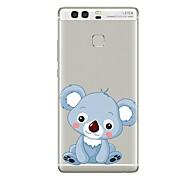 cheap -Case for Huawei P8 Lite2017 P10 Cover Transparent Case Koala Soft TPU for P10 Lite P10 Plus P9 Plus P9 Lite P9 P8 Lite P8 Mate9 Pro Mate9 Mate8