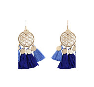 cheap -Women's Drop Earrings Jewelry Personalized Tassel Bohemian Fashion Cotton Alloy Irregular Jewelry Wedding Party Graduation Other Gift