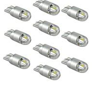 Недорогие -10 шт. T10 Автомобиль Лампы 1W SMD 5730 120lm Светодиодные лампы Внешние осветительные приборы