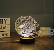 1 Set, Popular Home Acrylic 3D Night Light LED Table Lamp USB Mood Lamp Gifts, Interstellar