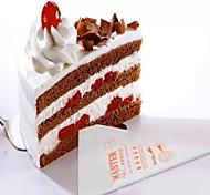 100 Moules à gâteaux Fleur Petit gâteau Chocolat For Chocolat Pour Cookie Gâteau Plastique + platine + eau Couverture résistant époxy