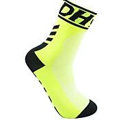 Недорогие -Спортивные носки Велоспорт Носки Универсальные Бег Велосипедный спорт Анатомический дизайн Воздухопроницаемость Легкие 1 пара Весна Лето