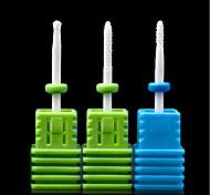 1PCS Nail Art Ceramic Electric Grinding Head Polishing Nail Tool  Grinding Machine Special Grinding Needle 5#-7# Optional