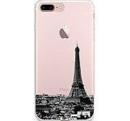 Case For IPhone 7 6 Eiffel Tower TPU Soft Ultra-thin Back Cover Case Cover iPhone 7 PLUS 6 6s Plus SE 5s 5 5C 4S 4