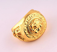 cheap -Men's Ring Gold Rose Gold Plated Alloy Unique Design Punk Birthday Business Gift Daily Office & Career Costume Jewelry