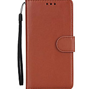 Case For Samsung Galaxy J7 (2017) J5 (2017) Case Cover Card Holder Wallet with Stand Flip Full Body Case Solid Color Hard PU Leather J3 (2017)