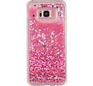 Кейс для samsung galaxy s8 s8 plus кейс для крышки маленький любовный узор tpu материал полный мягкий love flash порошок мобильный телефон
