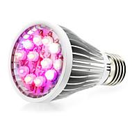 Недорогие -290-330 lm E14 GU10 E26/E27 Растущие лампочки 12 светодиоды Высокомощный LED Естественный белый UV (лампа черного света) Синий Красный AC