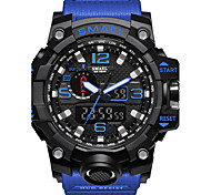 cheap -SMAEL Men's Digital Watch Military Watch Fashion Watch Sport Watch Japanese Digital Calendar / date / day Chronograph Water Resistant /