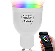 cheap -5W 500 lm GU10 LED Smart Bulbs A60(A19) 12 leds SMD 5730 WiFi Infrared Sensor Dimmable Light Control Remote-Controlled RGB+White Dual