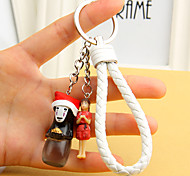 Bag / Phone / Keychain Charm Resin Crafts Cartoon Toy Phone Strap PVC Resin Nylon metal