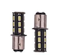 2PCS 5.5W white DC12v 1156 1157 BAY15D 18led 5730SMD LED Auto Lamps Car Turn Signal Lights High Quality
