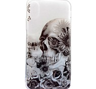 For iPhone X iPhone 8 Case Cover IMD Pattern Back Cover Case Skull Soft TPU for Apple iPhone X iPhone 8 Plus iPhone 8