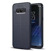 Funda Para Samsung Galaxy S8 Plus S8 Antigolpes Cubierta Trasera Color sólido Suave Silicona para S8 S8 Plus