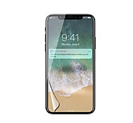 cheap -PET Screen Protector for Apple iPhone X Front Screen Protector High Definition (HD)