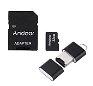 Andoer 32GB Class 10 Memory Card TF Card  Adapter  Card Reader USB Flash Drive for Camera Car Camera Cell Phone Table PC GPS