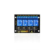 Недорогие -2016 новый! keyestudio 4-канальный 5-вольтный релейный модуль для arduino