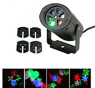 YWXLight® EU US Plug NO-Waterproof 4 Patterns Snowflake LED Projector Light for Home Garden Landscape
