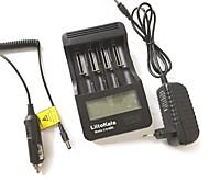 оригинальная батарея liitokala lii-400 аккумулятор четыре слота многофункциональный