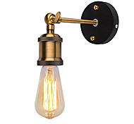 1pcs Modern Vintage Loft Adjustable Industrial Metal Wall Light retro brass wall lamp country style Sconce Lamp Fixtures AC80-240V