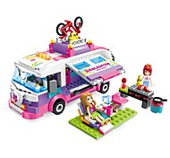 ENLIGHTEN Building Blocks Toys Car Romance Fashion DIY Classic Fashion Kids Adults' Girls' 319 Pieces