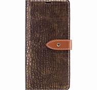 Hülle Für Samsung Galaxy Note 8 Geldbeutel Kreditkartenfächer Flipbare Hülle Magnetisch Handyhülle für das ganze Handy Volltonfarbe Hart