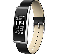 HHY New C9 Smart Wristbands Heart Rate Monitoring Message Push Waterproof Business Sports Bracelet Android IOS