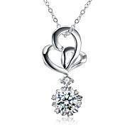 Women's Choker Necklaces Pendant Necklaces Cubic Zirconia Geometric Irregular Zircon Cubic Zirconia Fashion Hypoallergenic Jewelry For