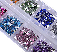 cheap -1 Glitter Rhinestones Nail Jewelry Elegant & Luxurious Sparkle & Shine Fashionable Design Sparkling Crystal / Rhinestone Style High