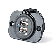 cheap -Multi Ports 2 USB Ports Charger Only DC 5V/2.1A