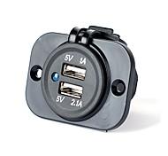 Portas Multiplas 2 Portas USB Carregador Somente DC 5V/2.1A
