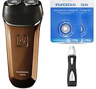 flyco fs870 электробритва бритвенное носовое устройство две запасные головки моющиеся 100240v