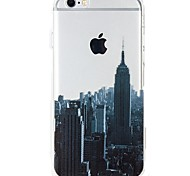 For iPhone 7 iPhone 7 Plus Case Cover Ultra-thin Transparent Pattern Back Cover Case City View Soft TPU for Apple iPhone 7 Plus iPhone 7