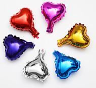 6pcs / lot 5inch звезда воздушный шар многоцветный 5 небольшой милый звезда фольги ballon