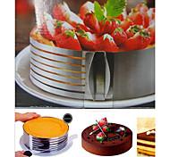 1 штука торты формы круглый торт из нержавеющей стали выпечки инструмент торт плесень, инструмент для выпечки