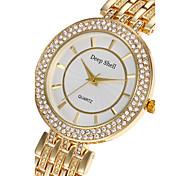 Women's Fashion Watch Wrist watch Quartz Alloy Band Luxury Elegant Cool Casual Silver Gold