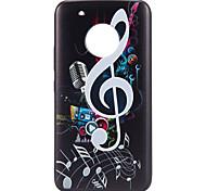 Недорогие -Кейс для Назначение Motorola С узором Кейс на заднюю панель Плитка Геометрический рисунок Мягкий ТПУ для Мото G5 Plus Moto G5