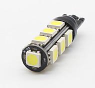 10x 2017 новый t10 13-smd 5050 обратные лампочки автомобиль вел мото чтение резервная лампа