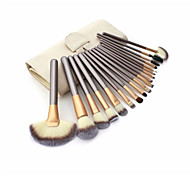 18pcs Makeup Brush Set Pony Synthetic Hair Cosmetic Beauty Care Makeup for Face